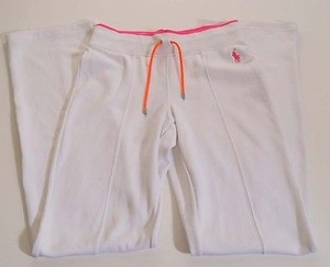 Ralph Lauren Blue Label Womens Pink Stretch Tennis Active Pants