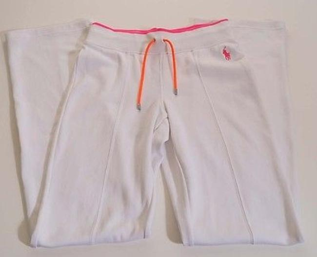 Preload https://img-static.tradesy.com/item/6850351/ralph-lauren-blue-label-womens-white-pink-stretch-tennis-active-atheltic-pants-0-0-650-650.jpg