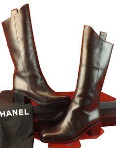 Chanel DARK BROWN Boots