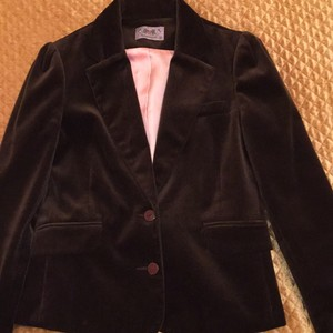Juicy Couture Brown with pink Blazer