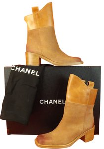 Chanel LIGHT BROWN Boots