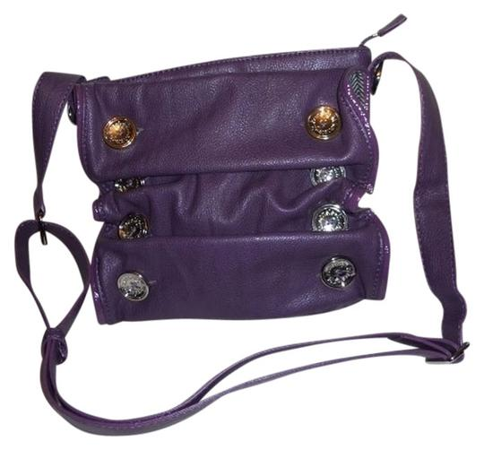 Preload https://img-static.tradesy.com/item/685126/kensie-girl-ruffle-purple-pupvc-cross-body-bag-0-0-540-540.jpg