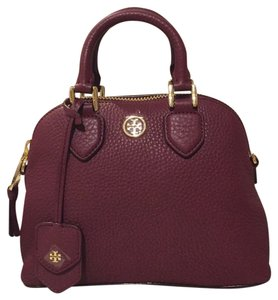 Tory Burch Satchel in Deep Berry