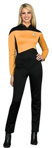 Star Trek Costume Halloween Top Yellow and black