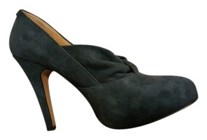 Nine West Suede Navy Navy Suede Pumps