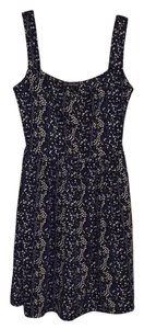 BeBop short dress Navy, white, black on Tradesy