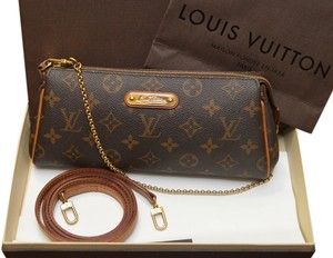 Louis Vuitton Eva Clutch Cross Body Bag