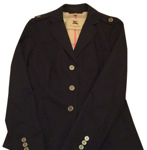 Burberry Navy Blue Blazer