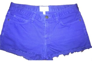 Current/Elliott Cut Off Shorts Cobalt