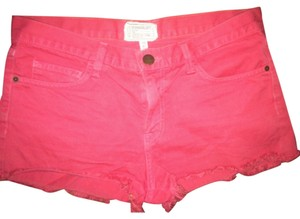 Current/Elliott Cut Off Shorts Red / coral