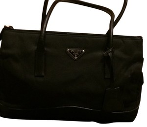 Prada Wallet Satchel in Black