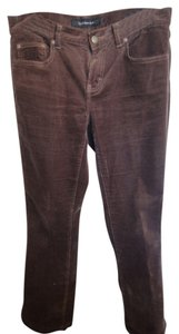 Calvin Klein Flare Pants Brown