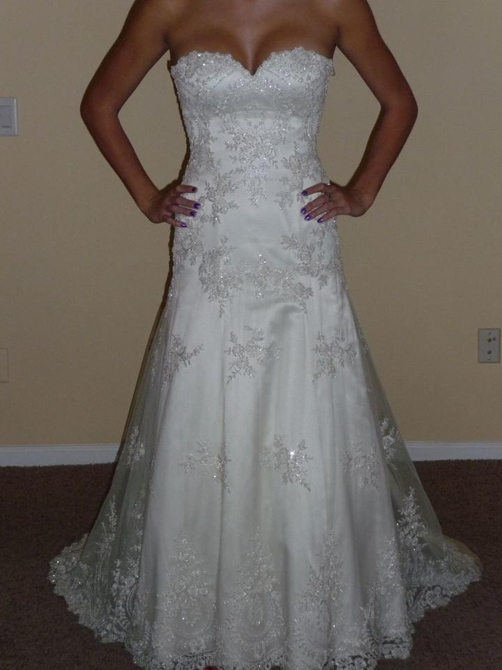 Pnina tornai the one 762 1116107 wedding dress tradesy for Best way to sell used wedding dress