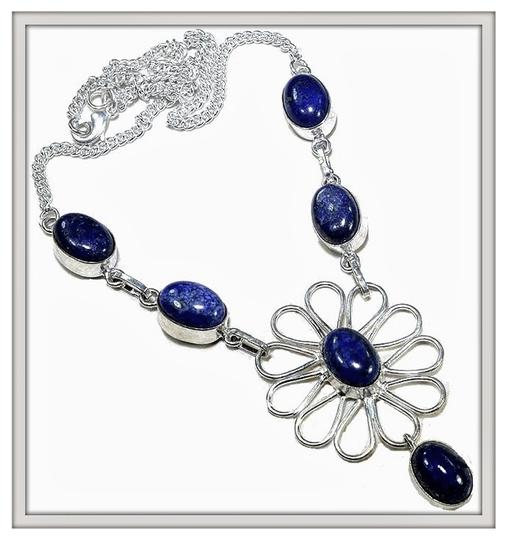 Other Blue Lapis 925 Sterling Silver Necklace