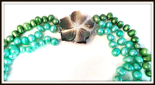 Other Turquoise Freshwater Pearls & Mother of Pearl