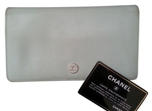 Chanel Authentic Leather Chanel Long Wallet