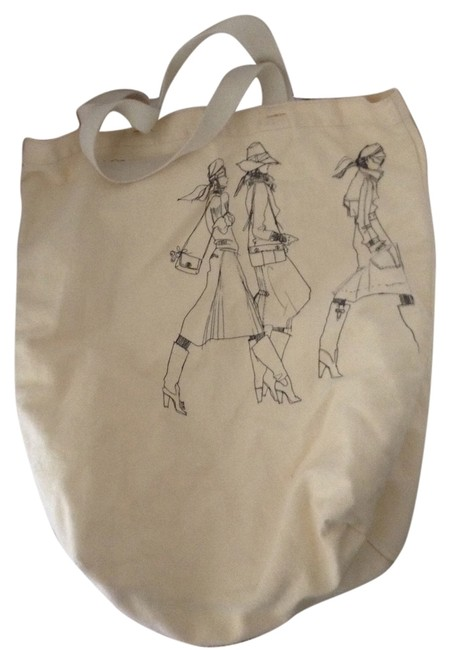 Item - Cream Canvas Tote