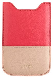 J.Crew J. Crew Leather Sleeve for iPhone 4, 4s and 5 and Blackberry