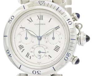 Cartier Cartier Pasha 38MM Chronograph Steel Quartz Watch W31018H8