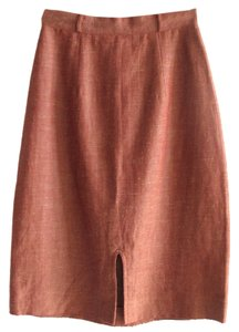 Other Linen High Waist Simple Skirt Sienna