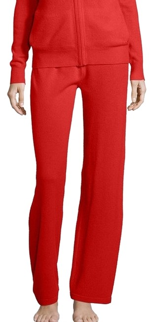 Preload https://img-static.tradesy.com/item/686101/neiman-marcus-red-cashmere-relaxed-fit-pants-size-14-l-34-0-2-650-650.jpg