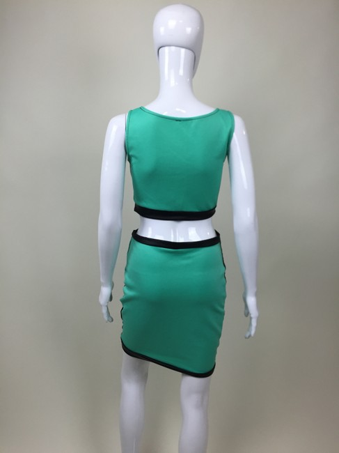 Other Two Piece Skirt Mesh Dress