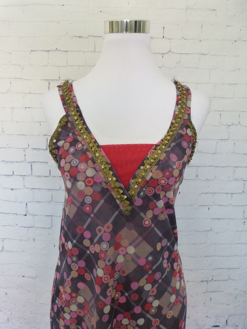Sweet Pea by Stacy Frati Gold Tunic Top Black