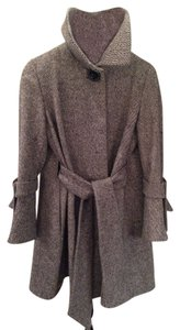 George Simonton Cape Wool Trench Coat