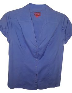 Merona Button Down Shirt Periwinkle