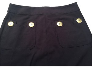 Tory Burch Wool Skirt Navy