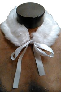 Other White Faux Fur Collar