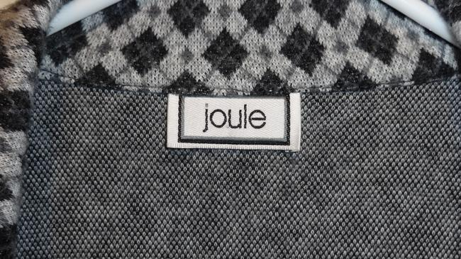 Joule Set 2 Piece Matching Checkered Warm Tank Professional Button Workplace Suit Jacket Soft Cardigan