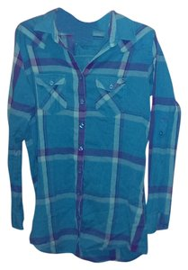 Nollie Button Down Shirt Blue