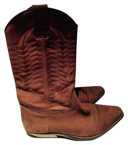 El Chapparal Brown Boots