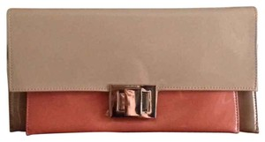 ALDO Nude/dust Rose Clutch