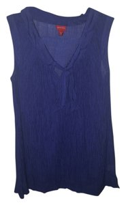 Merona Top Cobalt Blue