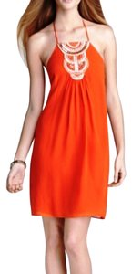 Trina Turk short dress Coral Red Summer Party Girls Night Out on Tradesy