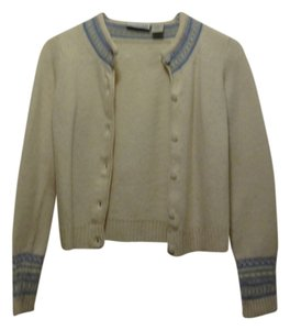 Canyon River Blues Easter Wool Lamb Soft Spring Feminine Pastel Cardigan