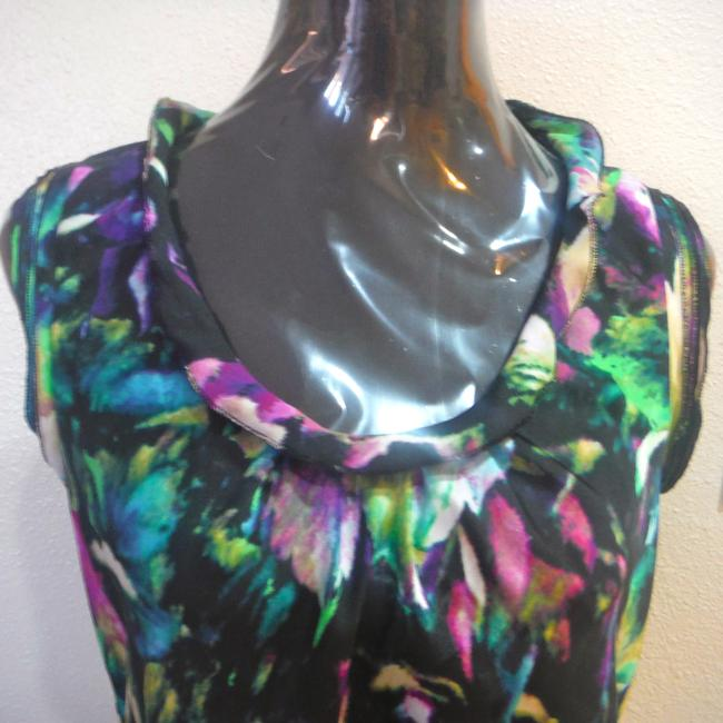 Willi Smith Blouse Sleeveless Top multicolor