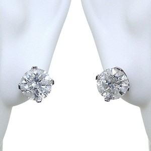 ABC Jewelry 1.50 ct Brilliant cut diamond earrings. NATURAL 1-549176