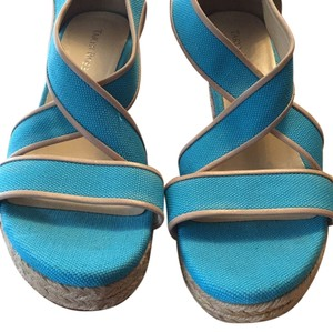 Taryn Rose Turquoise Wedges