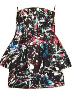 Charlotte Russe Print Party Dress