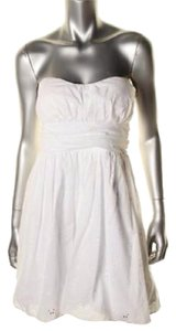 Speechless short dress White on Tradesy