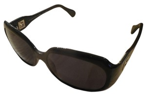 Fendi Fendi Black Sunglasses with Silver Z Detail