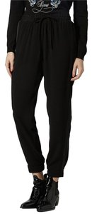 Topshop Relaxed Pants Black