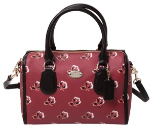 Coach Floral Convertible Flower Floral Print Cross Body Bag