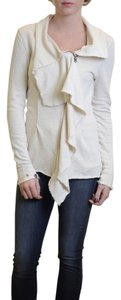 Free People We The Ebb Flow Terry French Cloth Cream Jacket