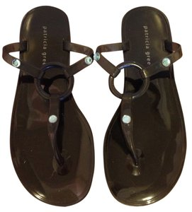 Patricia Green Navy Blue Sandals