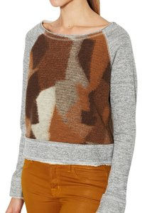 Dolan Wool Patchwork Sweatshirt