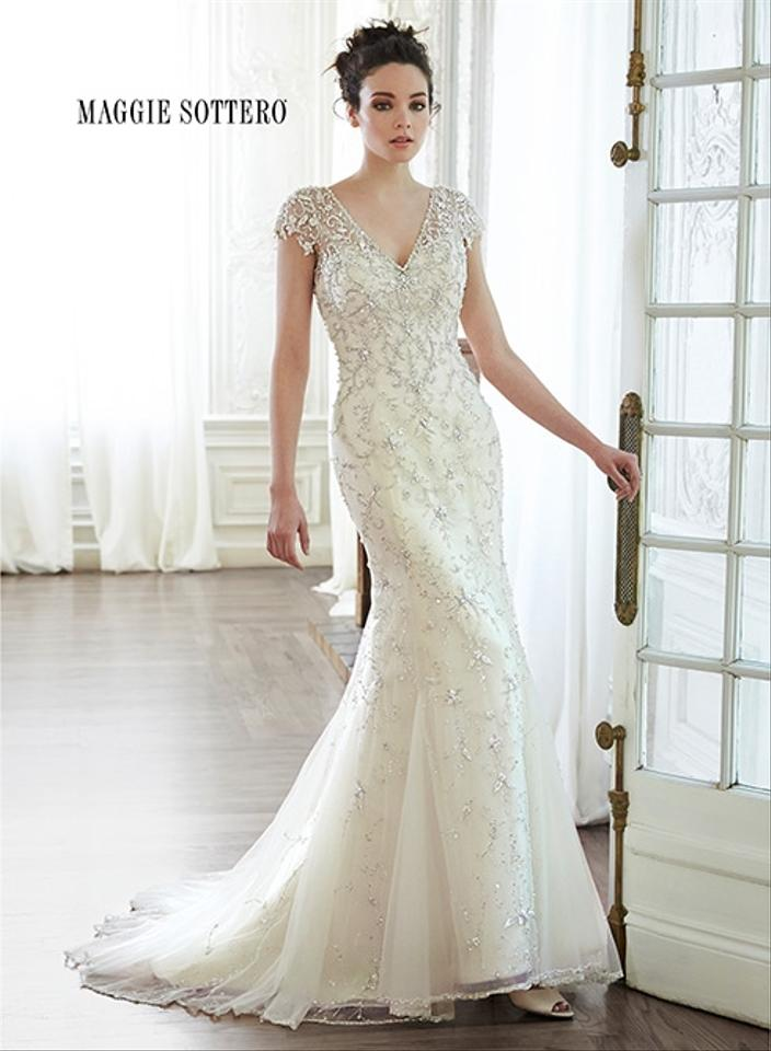 Maggie sottero doris wedding dress on sale 48 off for Maggie sottero wedding dress sale